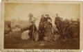 Photography:Cabinet Photos, Large Format Photograph Texas Railroad Survey Team ca 1890. ...