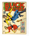Golden Age (1938-1955):Science Fiction, Buck Rogers #2 (Eastern Color, 1941) Condition: Apparent GD/VG....