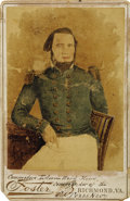 Photography:Cabinet Photos, Cabinet Card of Commodore Edwin Ward Moore, Texas Navy, ca.1880s....