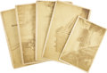 Photography:Cabinet Photos, Lot of Five Photographs to be St. Louis, Missouri ca 1880s-1890s.... (Total: 5 Items)