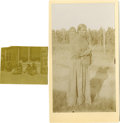 Photography:Official Photos, Two Unidentified Images of Indians, ca 1900s.... (Total: 2 Items)