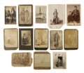 Photography:Cabinet Photos, Lot of Thirteen Images of American Indians,... (Total: 13 Items)