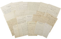 21 Letters from The Dakota Territory Fort Life and service in Military ca 1860s-1870s