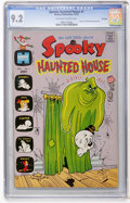 Bronze Age (1970-1979):Cartoon Character, Spooky Haunted House #1 File Copy (Harvey, 1972) CGC NM- 9.2Off-white to white pages....