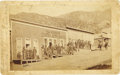 Photography:Official Photos, Three Early Albumen Views of Kelly, New Mexico,... (Total: 3 Items)
