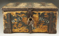 Western Expansion:Goldrush, Wells Fargo & Company Treasure Box with Character ca. 1860s....