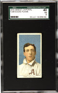 Baseball Cards:Singles (Pre-1930), 1909-11 T206 Eddie Plank SGC 40 VG 3. Like a schoolboy in fondimitation of his older brother, the T206 Plank hits all the ...