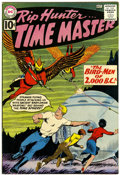 Silver Age (1956-1969):Science Fiction, Rip Hunter Time Master #4 (DC, 1961) Condition: VF+....