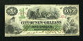 Obsoletes By State:Louisiana, New Orleans, LA- City of New Orleans $1 Oct. 21, 1863. ...