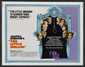 """Movie Posters:Mystery, Ten Little Indians (Avco Embassy, 1975). Half Sheet (22"""" X 28"""").Mystery...."""