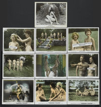 """Nudist Paradise Lot (Fanfare, 1960). Stills (10) (8"""" X 10""""). Also known as Nature's Paradise. Adult.... (Total..."""