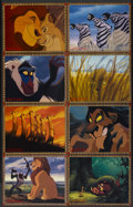 """Movie Posters:Animated, The Lion King (Buena Vista, 1994). Lobby Card Set of 8 (11"""" X 14""""). Animated.... (Total: 8 Items)"""