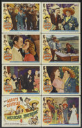 """Movie Posters:Comedy, Mexican Hayride (Universal International, 1948). Lobby Card Set of 8 (11"""" X 14""""). Comedy.... (Total: 8 Items)"""