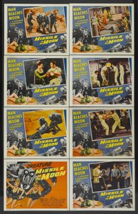 """Missile to the Moon (Astor Pictures, 1958). Lobby Card Set of 8 (11"""" X 14""""). Science Fiction.... (Total: 8 Ite..."""