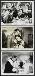 "Movie Posters:Sports, The Pride of the Yankees (RKO, R-1949). Stills (3) (8"" X 10""). Sports.... (Total: 3 Items)"
