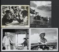 "Movie Posters:Adventure, The Old Man and the Sea (Warner Brothers, 1958 and R-1960s). Blackand White Stills (4) (8"" X 10""). Adventure.... (Total: 4 Items)"