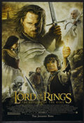 """Movie Posters:Fantasy, The Lord of the Rings: The Return of the King (New Line, 2003). One Sheet (27"""" X 40""""). Fantasy...."""