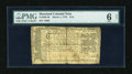 Colonial Notes:Maryland, Maryland March 1, 1770 $1/6 PMG Net Good 6....
