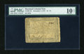 Colonial Notes:Maryland, Maryland December 7, 1775 $1 1/3 PMG Very Good Net 10....