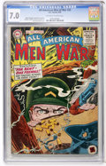 Golden Age (1938-1955):War, All-American Men of War #25 (DC, 1955) CGC FN/VF 7.0 Off-white towhite pages....