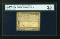 Colonial Notes:Maryland, Maryland December 7, 1775 $6 PMG Very Fine 25....