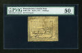 Colonial Notes:Pennsylvania, Pennsylvania April 3, 1772 2s PMG About Uncirculated 50....