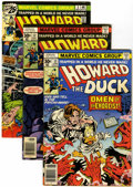 Bronze Age (1970-1979):Humor, Howard the Duck Group (Marvel, 1976-79) Condition: Average FN....(Total: 25 Comic Books)
