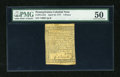 Colonial Notes:Pennsylvania, Pennsylvania April 10, 1777 4d PMG About Uncirculated 50....