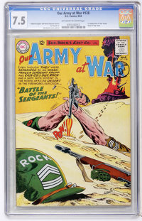 Our Army at War #128 (DC, 1963) CGC VF- 7.5 Off-white to white pages