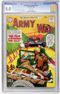 Silver Age (1956-1969):War, Our Army at War #131 (DC, 1963) CGC VF 8.0 White pages....