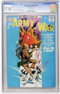 Silver Age (1956-1969):War, Our Army at War #136 (DC, 1963) CGC FN/VF 7.0 Off-white pages....