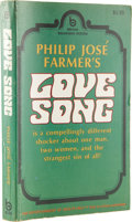 Books:First Editions, Philip José Farmer. Love Song....