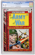 Silver Age (1956-1969):War, Our Army at War #148 Boston pedigree (DC, 1964) CGC NM- 9.2 Off-white to white pages....