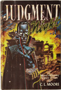 Books:Signed Editions, C. L. Moore. Judgment Night. A Selection of Science Fiction....