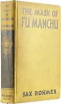 Books:First Editions, Sax Rohmer. The Mask of Fu Manchu....