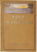 Books:Fiction, Zane Grey. Riders of the Purple Sage....