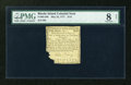 Colonial Notes:Rhode Island, Rhode Island May 22, 1777 $1/9 PMG Very Good Net 8....