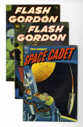 Golden Age (1938-1955):Miscellaneous, Four Color #378, 424, and 512 Sci-Fi Group (Dell, 1952-53).... (Total: 3 Comic Books)