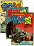 Golden Age (1938-1955):Adventure, Adventures of Rex the Wonder Dog #13, 14, and 15 Group (DC, 1954)Condition: Average FN.... (Total: 3 Comic Books)