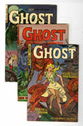 Golden Age (1938-1955):Horror, Ghost #4 and 7-9 Group (Fiction House, 1951-53) Condition: AverageVG/FN.... (Total: 4 Comic Books)