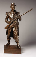 Bronze:European, PROPERTY FROM THE JOHN L. PELLEGRINI COLLECTION. JEAN GAUTHERIN(French, 1840-1890). Blandan, 19th Century. Bronze. In...