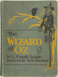 Books:Children's Books, L. Frank Baum. The Wizard of Oz. With Pictures by W. W.Denslow. Indianapolis: The Bobbs-Merrill Company, [1903]...