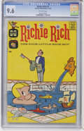 Silver Age (1956-1969):Humor, Richie Rich #1 (Harvey, 1960) CGC NM+ 9.6 Off-white pages....