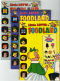 Silver Age (1956-1969):Humor, Little Lotta Foodland File Copies #20-29 Group (Harvey, 1969-72) Condition: Average NM-.... (Total: 10 Comic Books)