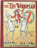 Books:Children's Books, L. Frank Baum. The Tin Woodman of Oz. Illustrated by John R.Neill. Chicago: The Reilly & Britton Co., [1918]....