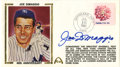 Autographs:Letters, Joe DiMaggio Signed First Day Cover. In what was perhaps the singlemost impressive individual feat in all of sports, Joe D...
