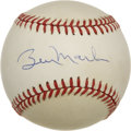 Autographs:Baseballs, Billy Martin Single Signed Baseball. While the majority of the OAL(Brown) baseball that we offer here has a uniform and li...