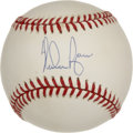 Autographs:Baseballs, Nolan Ryan Single Signed Baseball. In many ways Nolan Ryan, withhis seven no-hitters and over 5,000 strikeouts, is the mos...