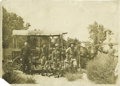 Western Expansion:Cowboy, Large Format Photograph of Group of Armed Men ca 1890s,...