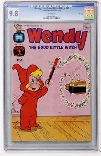 Wendy, the Good Little Witch #65 File Copy (Harvey, 1971) CGC NM/MT 9.8 White pages